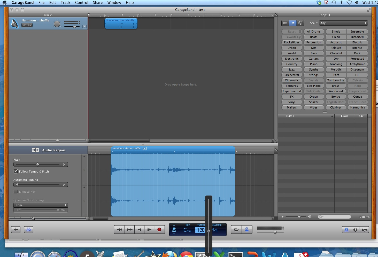 Create Your Own GarageBand Loops   What Betty Knows