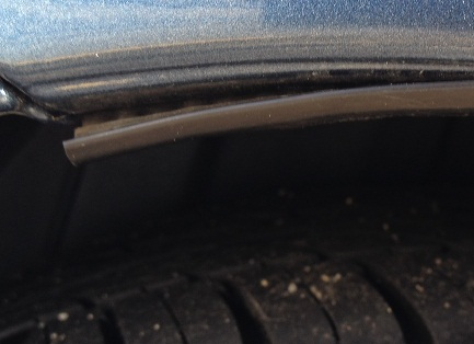rim not attached